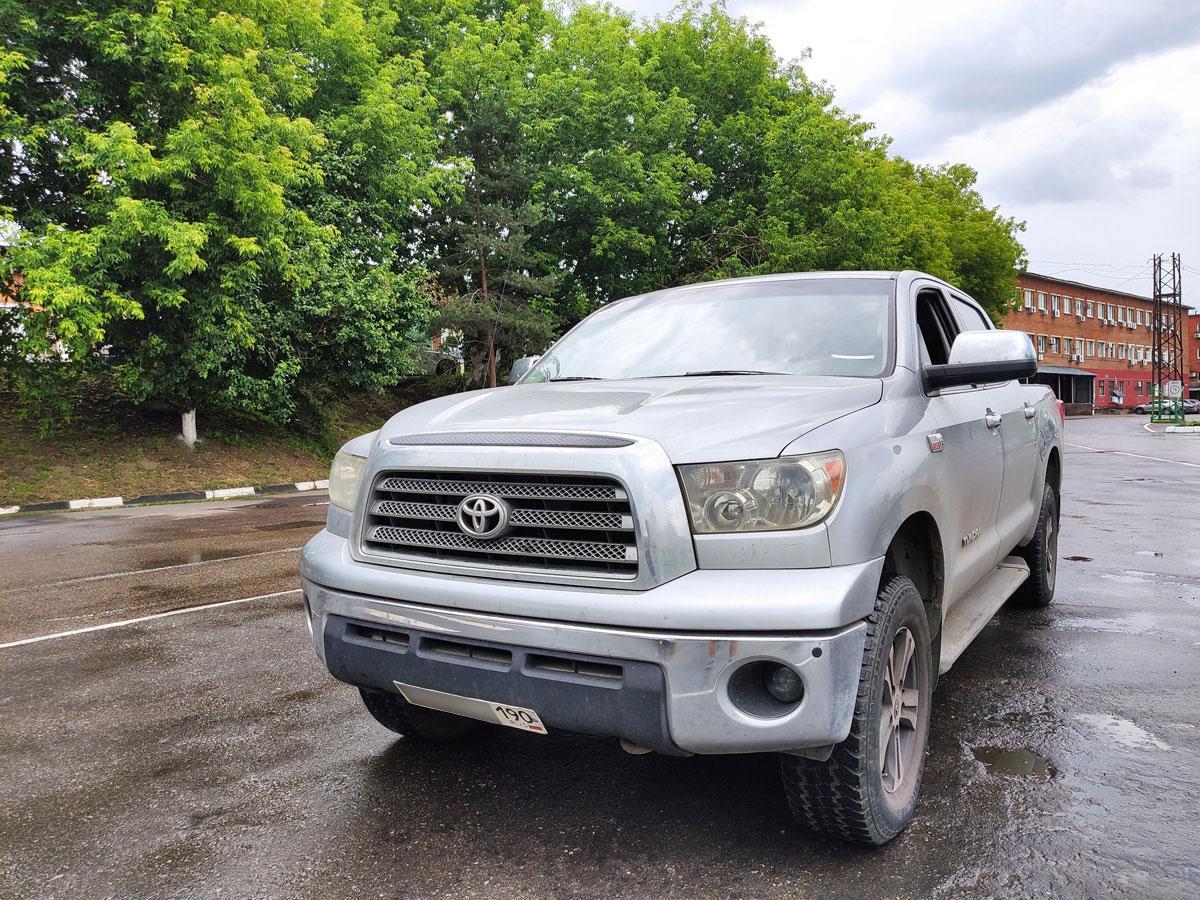 Установка газа на Toyota Tundra 5,7