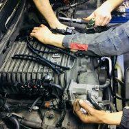 установка ГБО двигатель