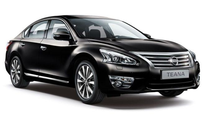 установка ГБО на Nissan Teana
