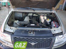 установка газа на грузовой уаз патриот